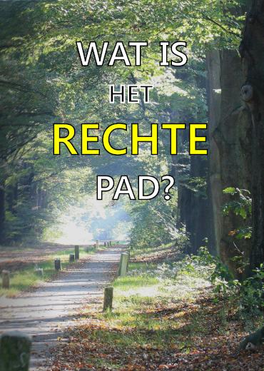 Het Rechte Pad - Dutch Outreach Flyer